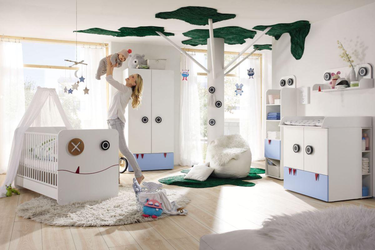Первая детская комната от now! by hülsta